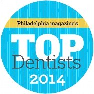 "Amy Ford, D.D.S.: named in ""Philadelphia Magazine""'s Top Dentists 2014"
